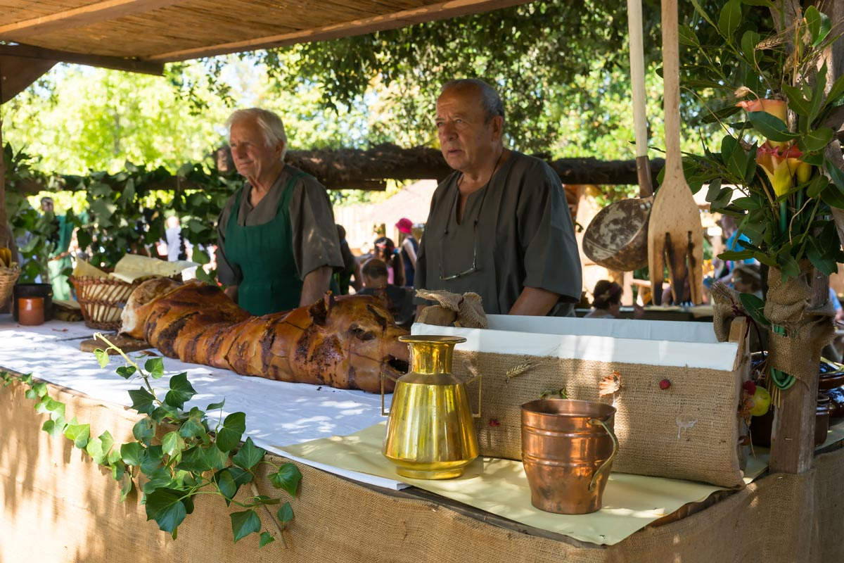 Volterra AD 1398 Festival - a legendás porchetta