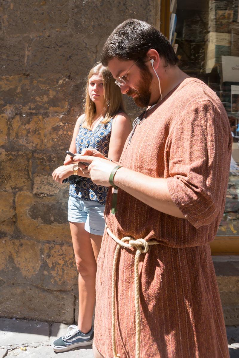 Volterra AD 1398 Festival - amikor a múlt a jelennel találkozik