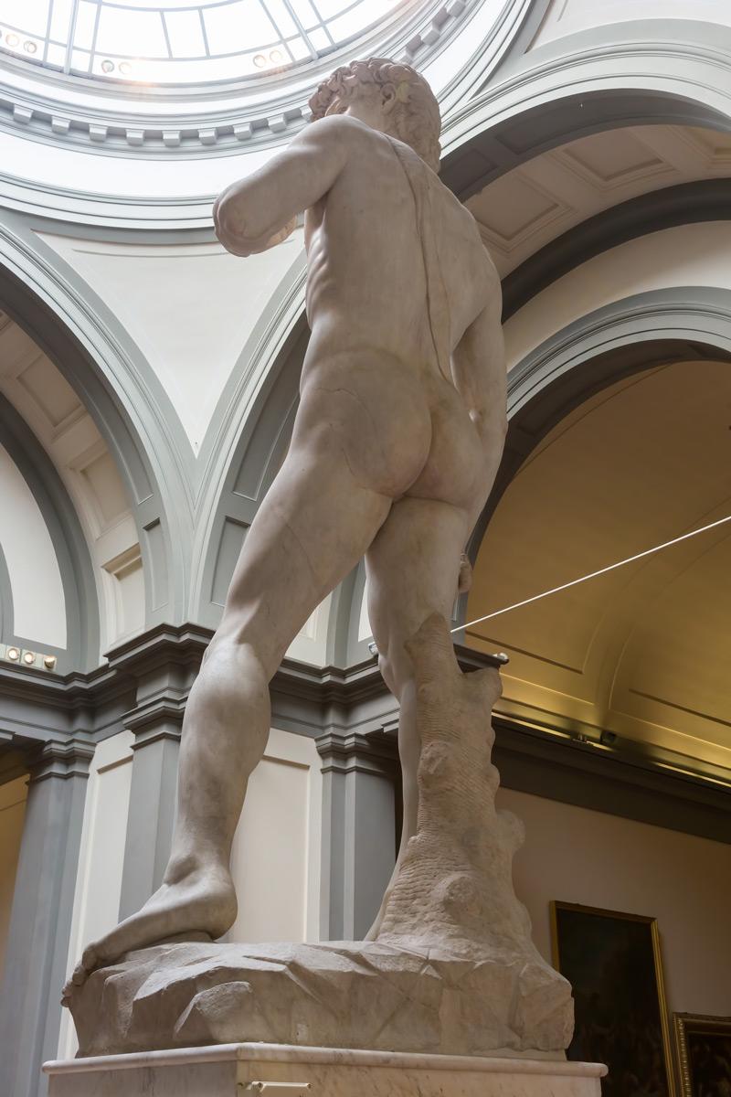 Firenze - Michelangelo híres David-ja úgy, ahogy nagyon kevesen látják