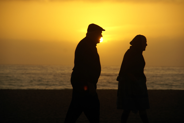 ELDERLY COUPLE, PORTUGAL 2008