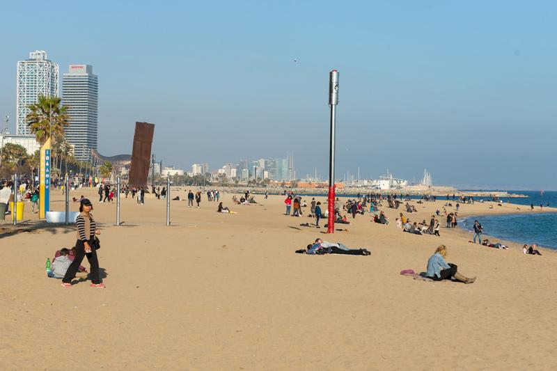 Barcelona, a tengerpart december 26-án!