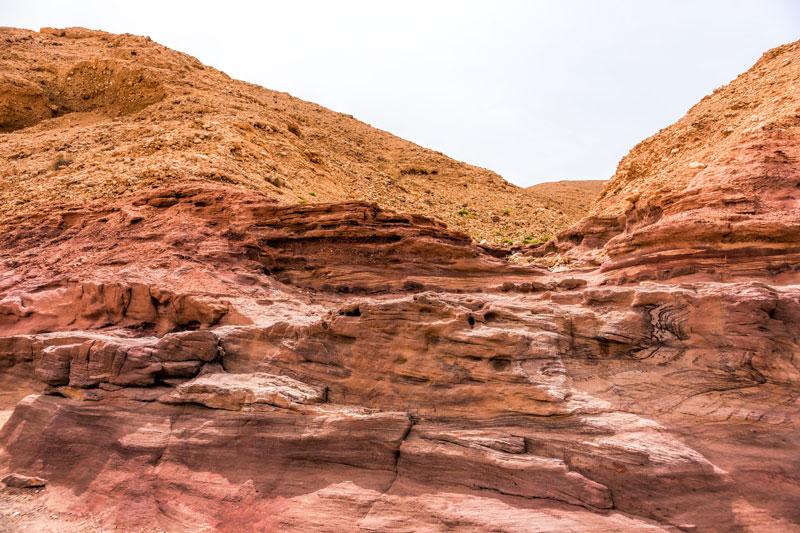 Rétegek, korok, színek - Negev sivatag