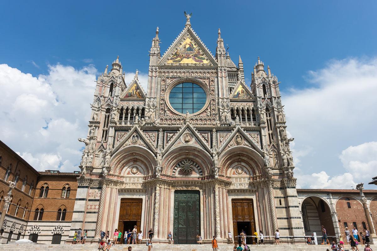 Cattedrale di Santa Maria Assunta, Siena - homlokzat