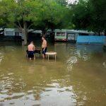 Baska, Croatia - kármentés felhőszakadás után