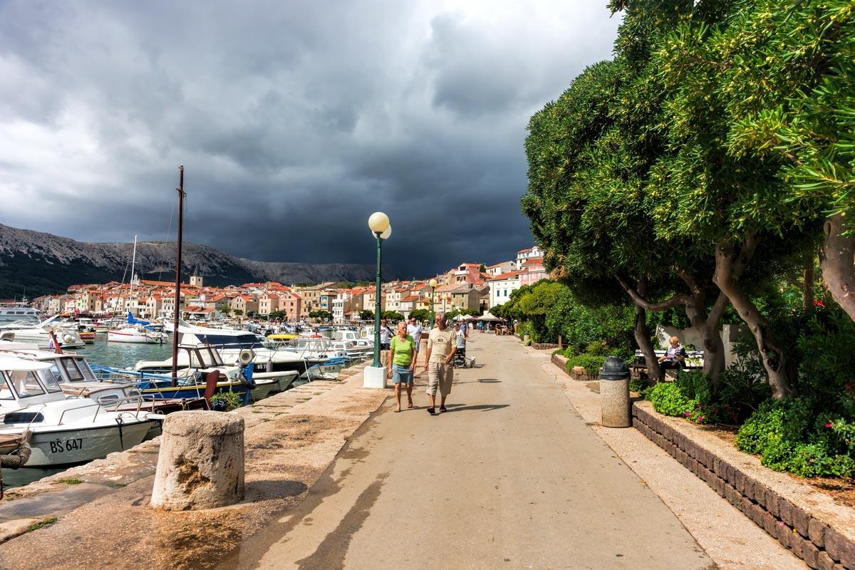 Baska, Croatia - vihar előtt vagy vihar után?