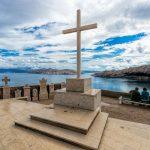 Baska, Croatia - a temető a fennsíkon