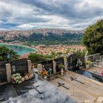 Baska, Croatia - végső nyugalom kilátással