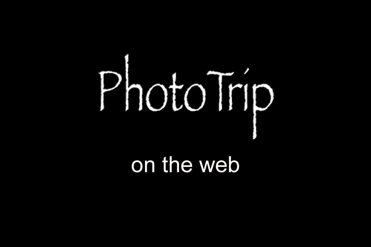 PHOTOTRIP ON THE WEB