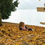 Ha ott kényelmes, hát ott kényelmes. Bled, Szlovénia