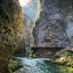 A Vintgar szurdok Bled közelében